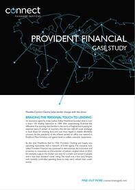 Case Studies - Provident Financial