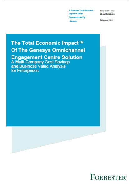 Forrester_Total_Impact_Of_Genesys_Solution