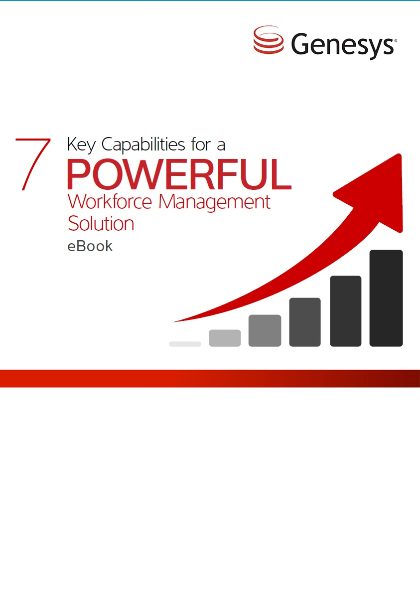 Genesys - 7 Key Capabilities For A WFM Solution