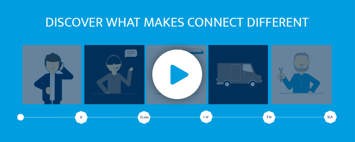 What makes Connect Managed Services different?